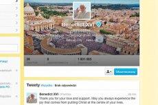 Ostatni wpis zamieszczony przez Benedykta XVI na Twitterze