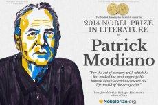 Laureatem tegorocznej Nagrody Nobla w dziedzinie literatury został Patrick Modiano