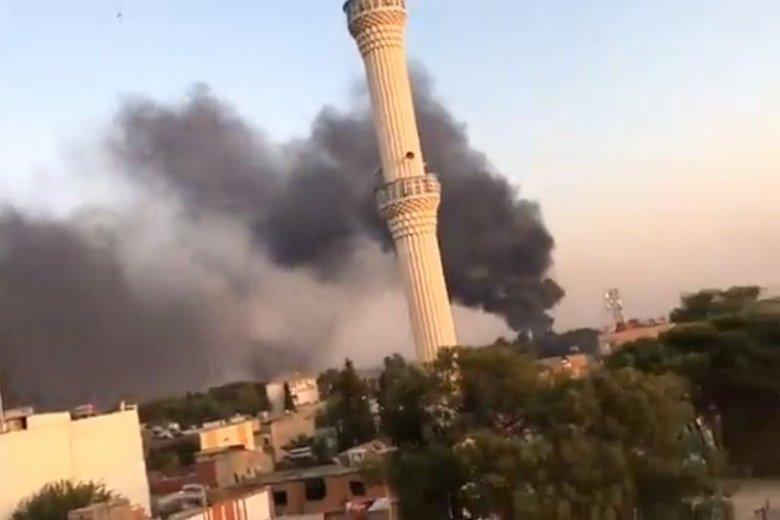 Media informują o pierwszych ofiarach cywilnych inwazji Turcji na Syrię.