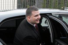 """""""Do Rzeczy"""": Bartłomiej Misiewicz stracił prawo jazdy na 3 miesiące."""