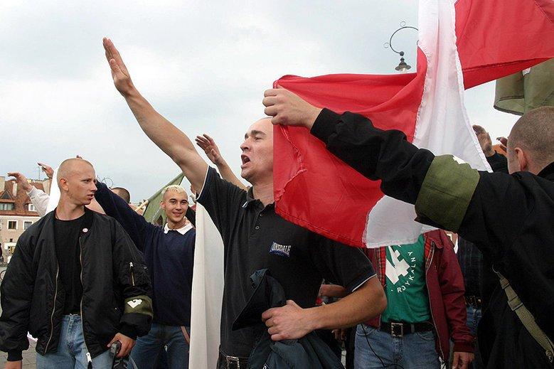 Są pierwsi zatrzymani w związku z nazistowskimi ekscesami na Śląsku (zdjęcie ilustracyjne)