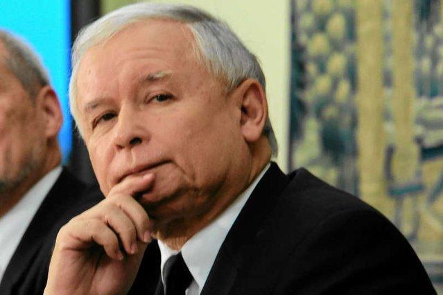Jarosław Kaczyński ma powody do zadowolenia. Notowania PIS wciąż idą w górę.