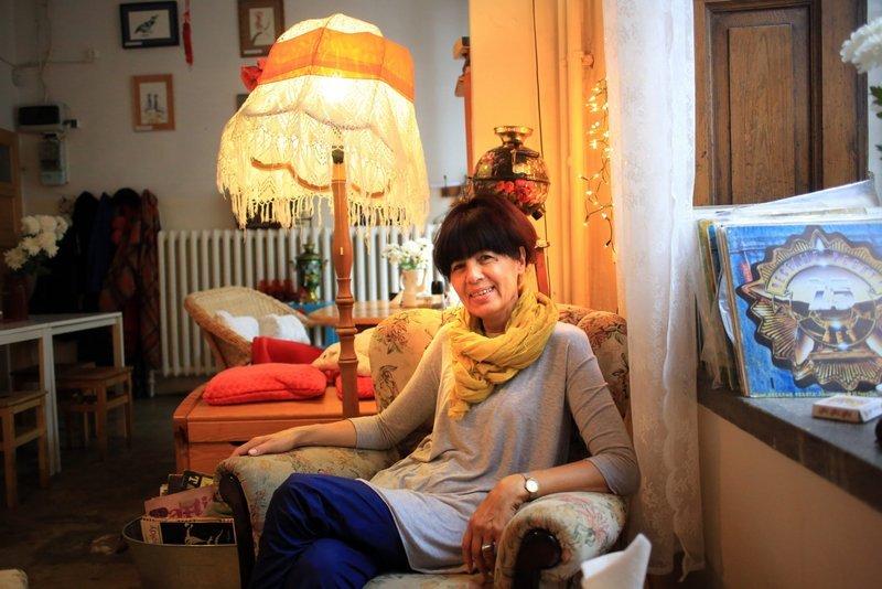 Pani Tamara, właścicielka Skamiejki