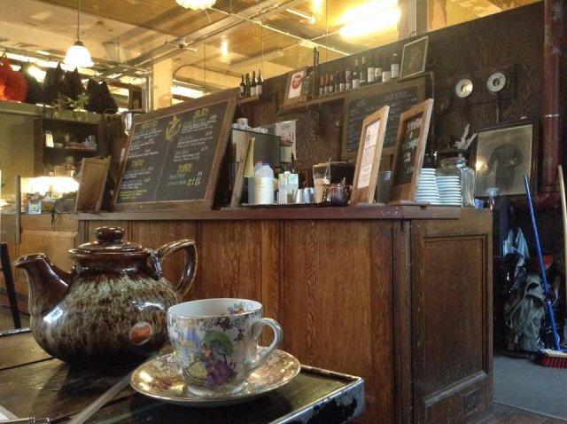 Beyond Retro - przehipsterska kawiarnia w londyńskim Dalston