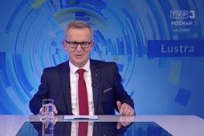 """Roman Wawrzyniak w programie """"Lustra""""."""