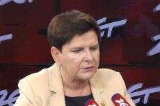 Beata Szydło znowu musiała się tłumaczyć z tego, jak mówi po angielsku.
