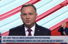 W środę 17 czerwca odbyła się przedwyborcza debata w TVP. Wzięło w niej udział 11 kandydatów.