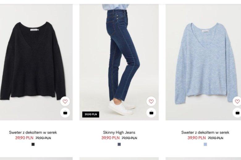 W H&M znajdziecie wiele ubrań i dodatków poniżej 45 złotych