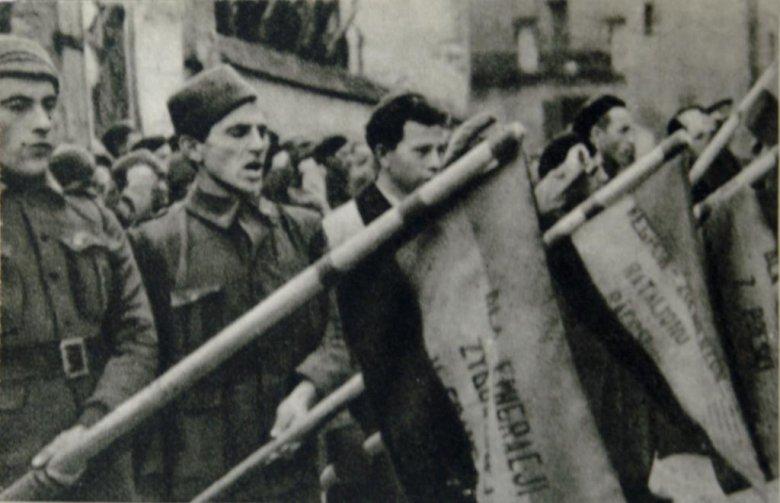 Polskie oddziały walczące w hiszpańskiej wojnie domowej w latach 1936-1939.