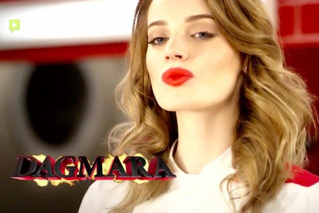 Modelka Dagmara.