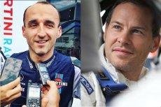 Robert Kubica i jego hejter – Jaques Villeneuve.