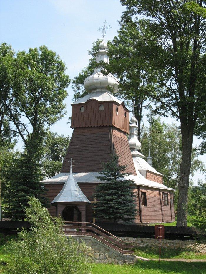 Cerkiew św. Jana Ewangelisty w Muszynce.