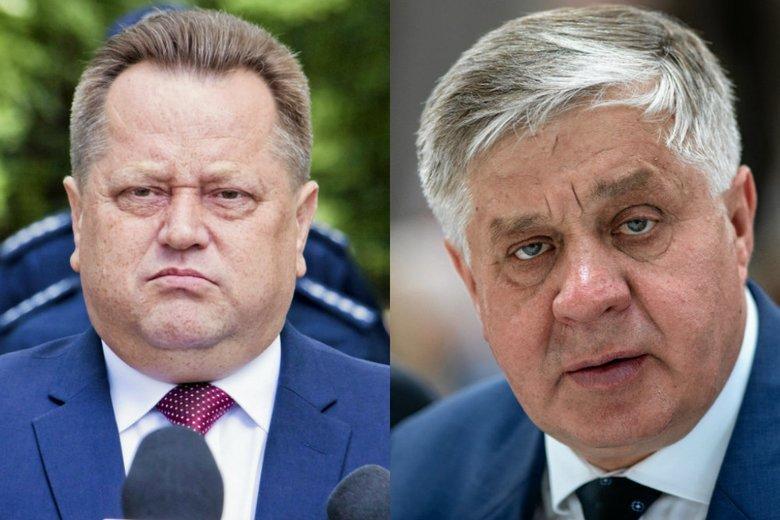 Podlascy baronowie PiS - Jarosław Zieliński i Krzysztof Jurgiel. Ten drugi powalczy teraz o mandat europosła.