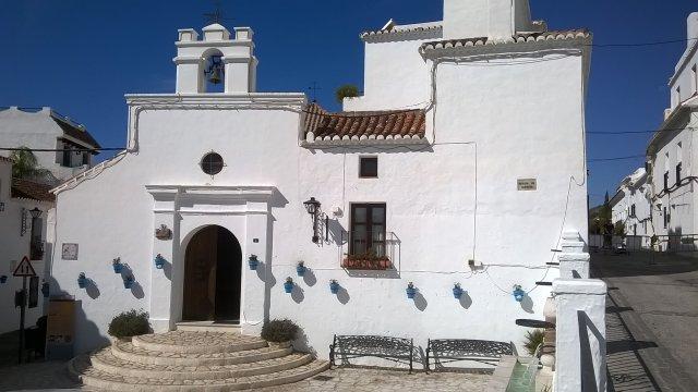 Kościółek św. Anny w Mijas Pueblo