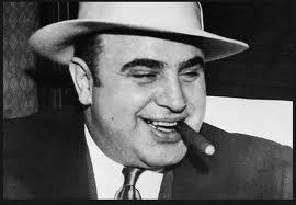 Al Capone w szczycie powodzenia.