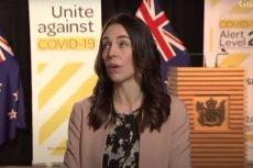 Premier Nowej Zelandii Jacinda Ardern była świadkiem trzęsienia ziemi, gdy udzielała wypowiedzi telewizji.