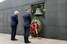 Heiko Maas i Jacek Czaputowicz podczas obchodów 75. rocznicy wybuchu Powstania Warszawskiego.
