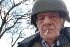 """""""Ukraińcy kazali ubrać kamizelki kuloodporne"""" – pisał Ryszard Terlecki, prezentując to zdjęcie na Twitterze."""