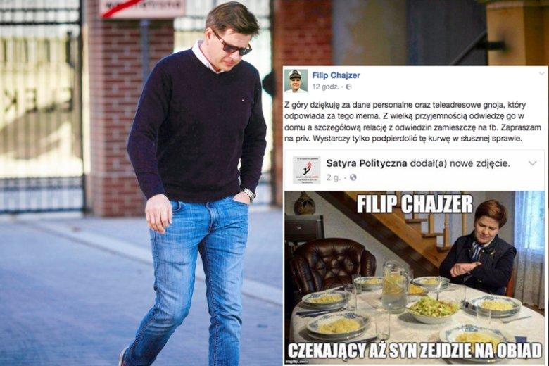 Filip Chajzer jest kontrowersyjnym dziennikarzem i często jest atakowany przez internautów. Naśmiewanie się jednak z tragicznej śmierci syna jest niewybaczalne.