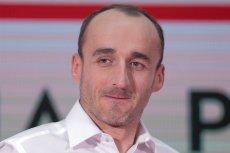 """Daniel Obajtek, szef PKN Orlen broni Kubicy i przekonuje, że """"Robert dzielnie walczy"""" w Formule 1."""