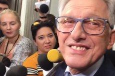Stanisław Piotrowicz bronił swojej przeszłości w rozmowie z dziennikarzami.