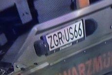 Polskie tablice rejestracyjne stały się zarzewiem sporu.
