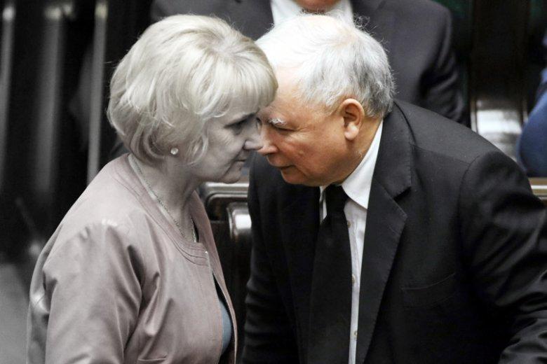 Prezes PiS Jarosław Kaczyński w ciepłych słowach wspominał zmarłą posłankę Jolantę Szczypińską.