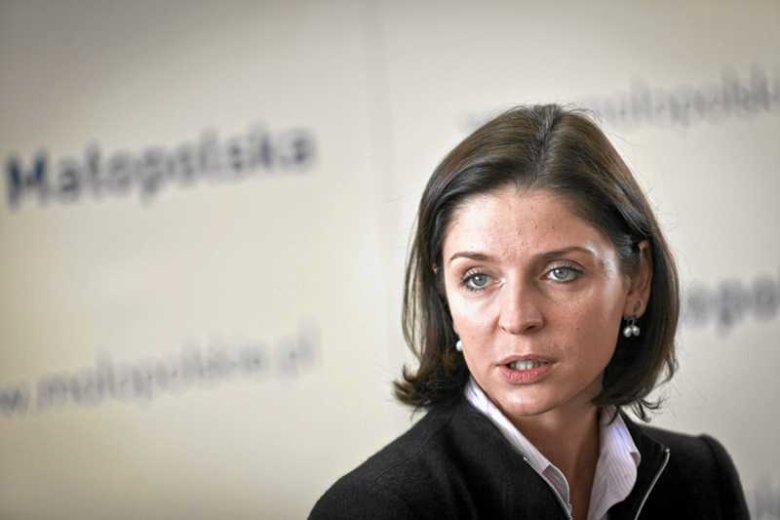 Joanna Mucha negatywie ocenia kampanię wyborczą Jarosława Gowina.