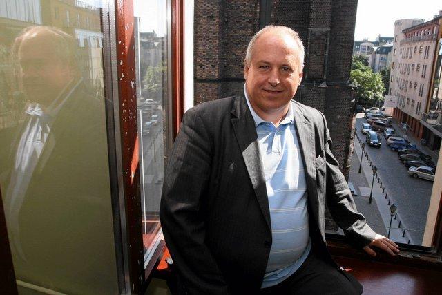Założyciel Ganta Grzegorz Antkowiak, dziś odcina się pd upadłej firmy. Nie jest nawet akcjonariuszem.