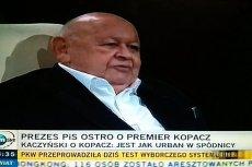 Jerzy Urban dał właśnie pocałunek śmierci PO?
