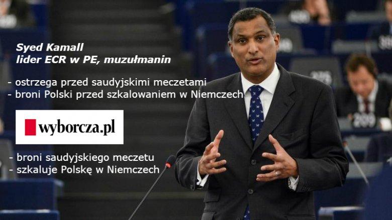 Syed Kamall lider Europejskich Konserwatystów i Reformatorów