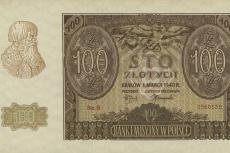 100 zł, fałszerstwo ZWZ, emisja z 1 marca 1940 roku