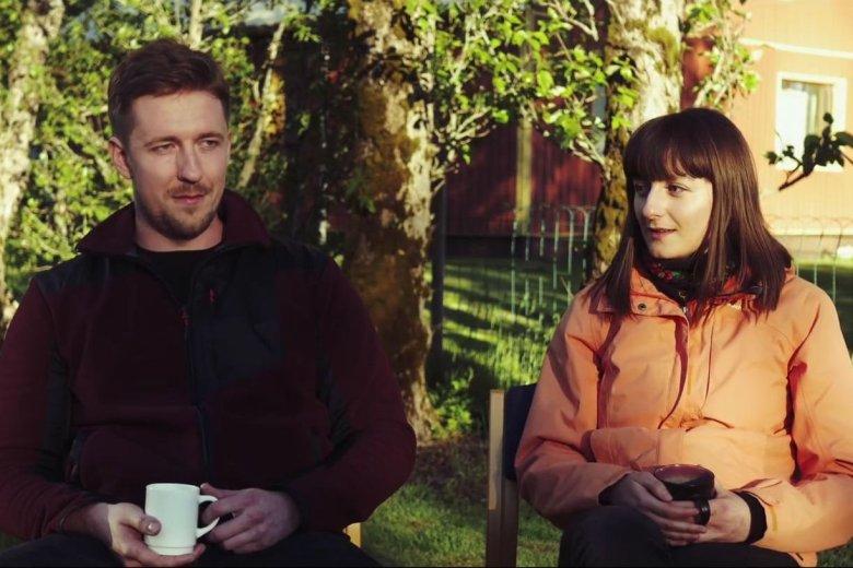 Grzesiek i Kasia mieszkają na Islandii od 18 miesięcy