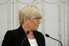 Julia Przyłębska nie zgadza sięz decyzją Sądu Najwyższego.