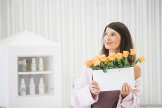 Na zdjęciu Magda Beyer, założycielka kosmetycznej marki Fridge by yDe.