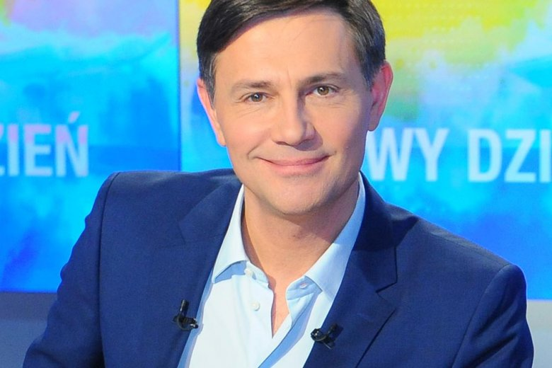 Krzysztof Ibisz w studiu Polsat News