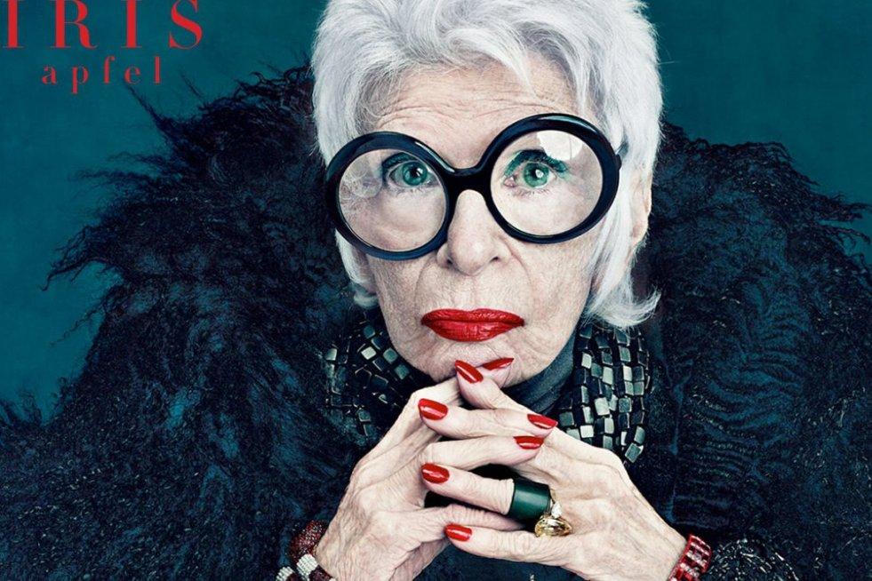Iris Apfel, ikona mody.