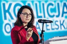 Kamila Gasiuk-Pihowicz i kilku innych posłów Nowoczesnej wraz z PO stworzyło nowy klub parlamentarny PO-Koalicja Obywatelska.