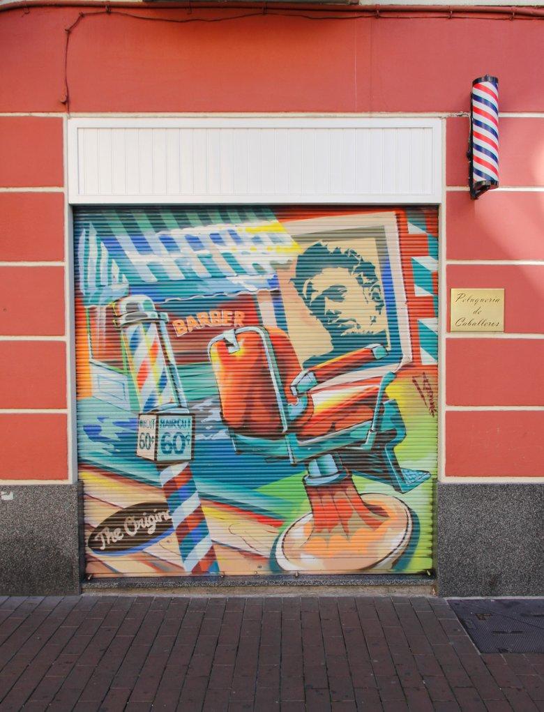 Zakład fryzjerski, Vitoria-Gasteiz.