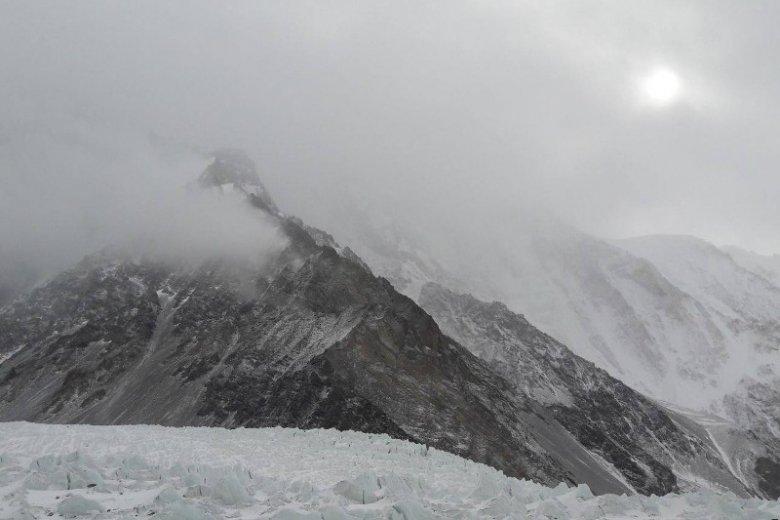 Na K2 wreszcie pojawiło się słońce.