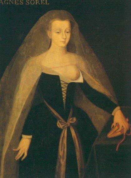 Agnes Sorel, wg Jean Fouquet