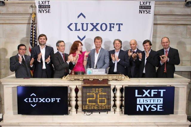 Wejście Luxoft na NYSE