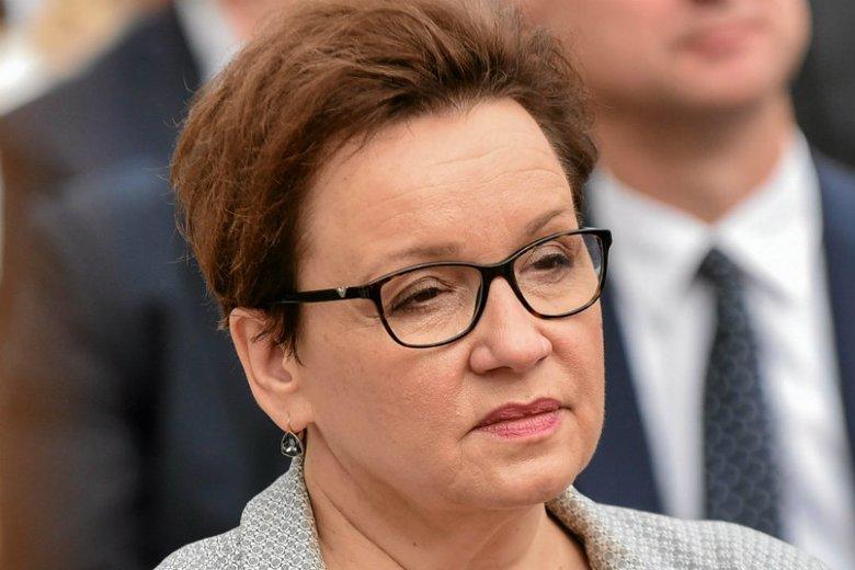 Anna Zalewska w sobotę spotkała się z mieszkańcami Choroszczy na Podlasiu.