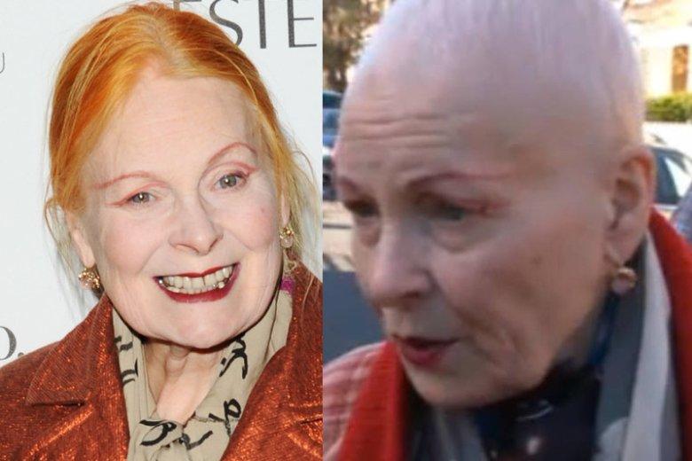 Projektantka Vivienne Westwood ścięła Rude Włosy Od Zmian