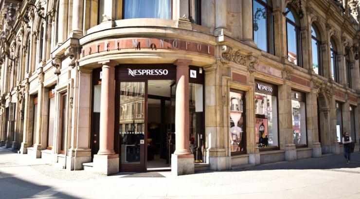 Butik Nespresso w Hotelu Monopol we Wrocławiu