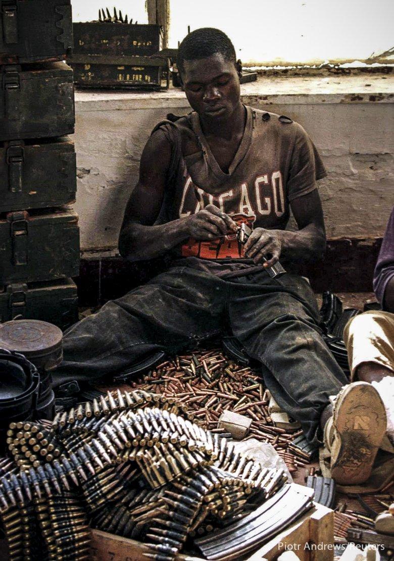 Żołnierz Sojuszu Sił Demokratycznych na rzecz wyzwolenia Konga.