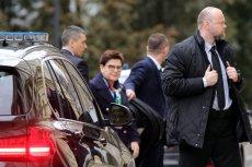 Pierwsze zwycięstwo kierowcy seicento! Sąd uznał, że zatrzymanie 21-latka po wypadku z premier Szydło było bezzasadne
