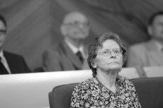 Nie żyje Zofia Bartoszewska, wdowa po Władysławie Bartoszewskim. Miała 90 lat.