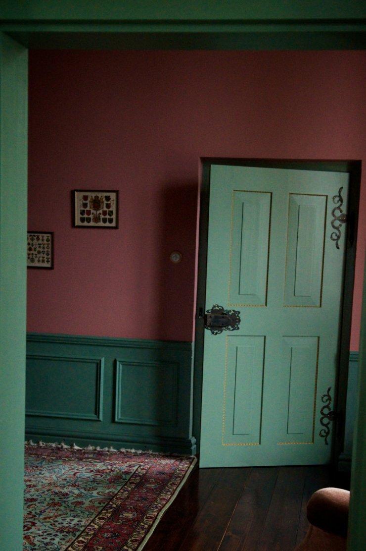 Jedno z pałacowych wnętrz, w kolorach o których wspomina Joanna