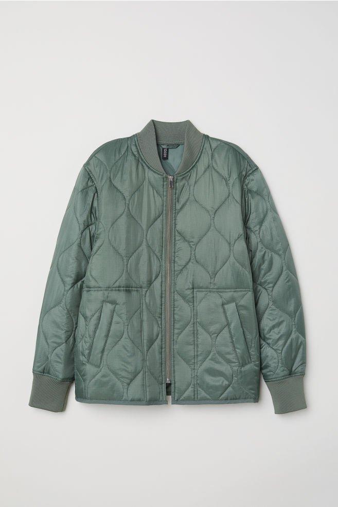 Kurtka od H&m w kolorze khaki